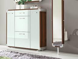 Hallway Shoe Storage Cabinet Stylish Gloss White Shoe Storage Cabinet For Modern Hallway Shoe