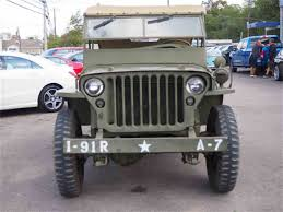 vintage willys jeep 1943 willys jeep for sale classiccars com cc 1041493