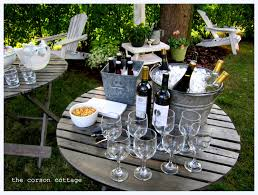 the corson cottage outdoor entertaining backyard party the