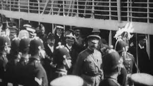 lord kitchener u0027s arrival at southampton july 12th 1902