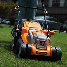 lawnmaster clmb4016k 40v cordless lithium ion electric lawn mower