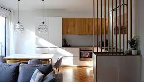 cuisine d appartement photos salon séjour cuisine d une rénovation d appartement archi