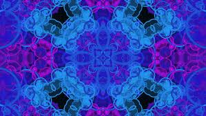 blue kaleidoscope wallpaper blue kaleidoscope sequence patterns 4k abstract multicolored