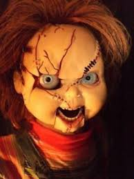 Puppet Doll Halloween Costume Draw Dummy Ventriloquist Poster