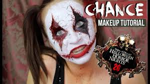 orlando sentinel halloween horror nights chance from halloween horror nights 26 makeup tutorial youtube