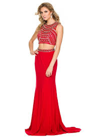 two parts set prom dress nxc8174
