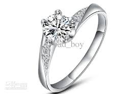 womens wedding ring fashion women s diamond ring 925 silver diamond rings engagement
