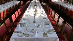 formal dinner table setting dining room formal dinner table set in long large table covered
