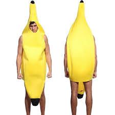 Mens Funny Halloween Costumes Men U0027s Funny Halloween Banana Costume Halloween Costume