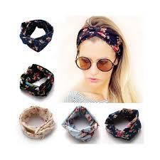 headbands for women new fashion women hair band turban headband multicolored flowers