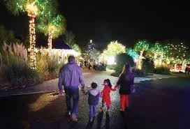 holiday festival of lights charleston tours excursions unlimited