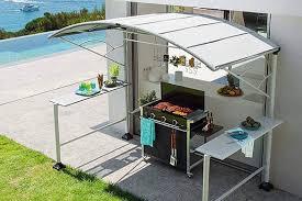 abri de cuisine abri pour barbecue modèle neiba taille au choix eno