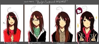 Meme High School - high school meme by natsuki12 on deviantart