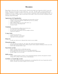 resume wording resume for your job application