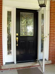 black front doors with glass andelightsblack entry door 100