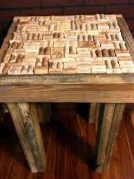 1001 Pallet by Pallet Wood Cork End Table U2022 1001 Pallets