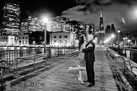 Bay Area Photographers Champagne Spray San Francisco Engagement Session On The