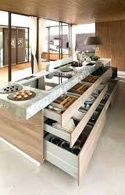 table ilot cuisine haute table haute ilot central cheap ilot de cuisine avec table amovible