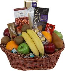 chocolate gift basket flowers of southport 6 chocolates and fruits in season gift basket