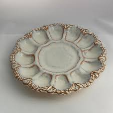 antique deviled egg plate dining room carnival glass egg plate deviled egg platter with