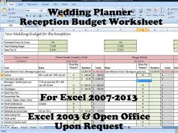 Wedding Planning On A Budget Printable Wedding Venue And Reception Budget Planner On Handmade