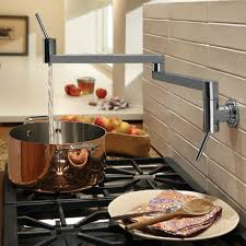 pot filler kitchen faucet 800901144 in brushed nickel by jado in york city ny
