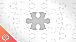 free puzzle piece template inkscape tutorial vector puzzle pieces youtube