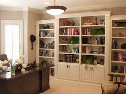 simple bookshelf with cabinet doors home design ideas creative to