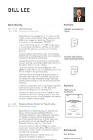 Military Police Officer Resume Sample by Chief Of Police Resume Samples Visualcv Resume Samples Database