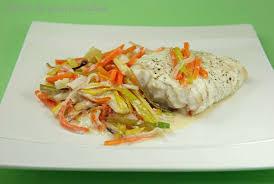 cuisiner filet de julienne filet de poisson à la julienne de légumes péché de gourmandise
