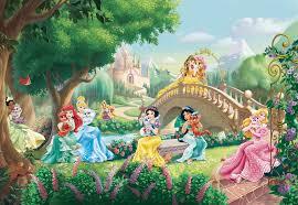 sunny decor wall murals wall mural wallpaper princess palace pets