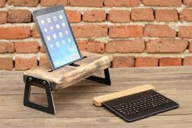 unique charging station wooden ipad docking station industrial ipad charging station