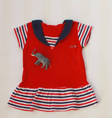 Vintage Style Baby Clothes Nautical Baby Dress From The 90s 1t Vintage Toddler Sailor