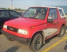 chevy tracker 1990 chevrolet tracker americas wikipedia