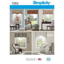 Free Valance Pattern Home Decorating Sewing Patterns Simplicity