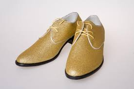 cheap gold dress shoes cool men prom shoes leather groom casual