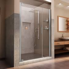 dreamline elegance 46 48 in width frameless pivot shower door 3