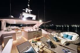 fun in the sun outdoor entertaining onboard horizon u0027s luxury