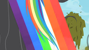 image rainbow leaving a rainbow trail s4e07 png my little pony