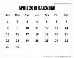 april 2018 calendar printable template pdf notes png jpg