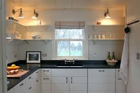 no cabinets in kitchen kitchen without upper cabinets enlarge small upper kitchen