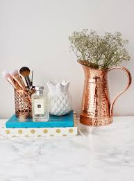 Bedroom Ideas Rose Gold How To Set Blog Goals And Achieve Them Makeup Brush Holders