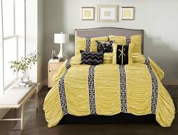Blue Yellow Comforter Mustard Yellow Comforter Sets Tags Yellow And Black Comforter