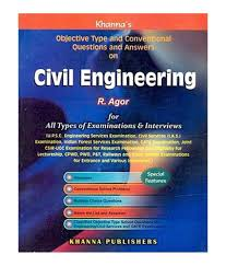civil engineering objective type and conventional questions and