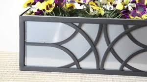 Hooks And Lattice by Wrought Iron Window Boxes Youtube