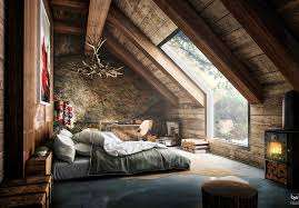 wooden interior comfortable and cozy 30 attic apartment inspirations