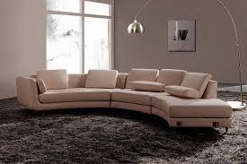 canape arondi intérieurs avec un canapé arrondi un meuble pratique et déco
