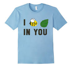 amazon blue snowball ice black friday amazon com i believe bee leaf in you funny t shirt clothing