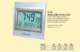 Digital Atomic Desk Clock Corporategifts 4 Less Custom Logo And Personalized Gift Clocks