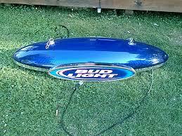 bud light pool table light awesome bud light torpedo pool table light rare find jsa online